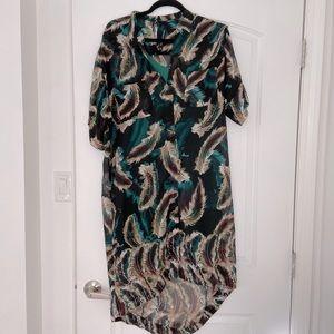 W118 by Walter Baker high low dress, size L